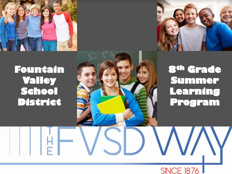 8th Summer Learning Resources