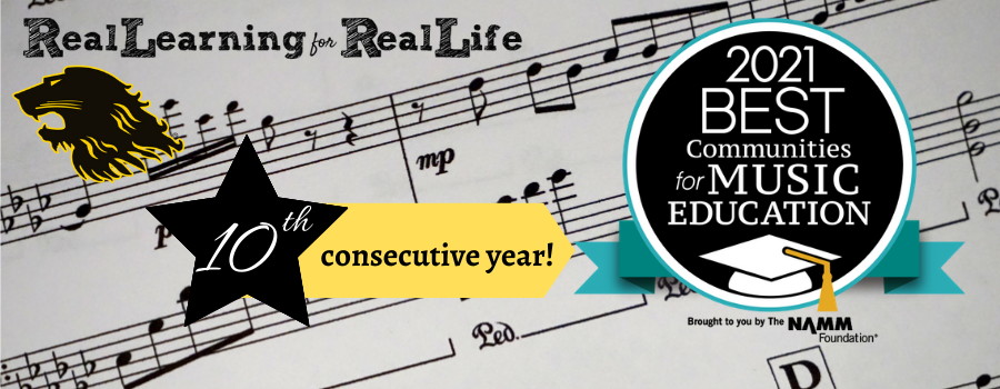 RLASD Best Communities for Music Education 2021