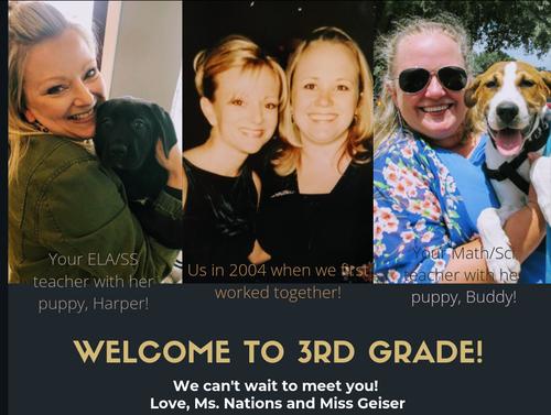 Your 3rd Grade Teachers