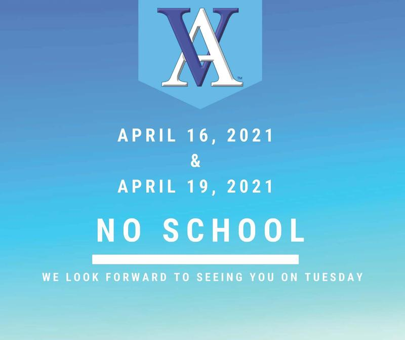 No School - April 16 and April 19 Thumbnail Image