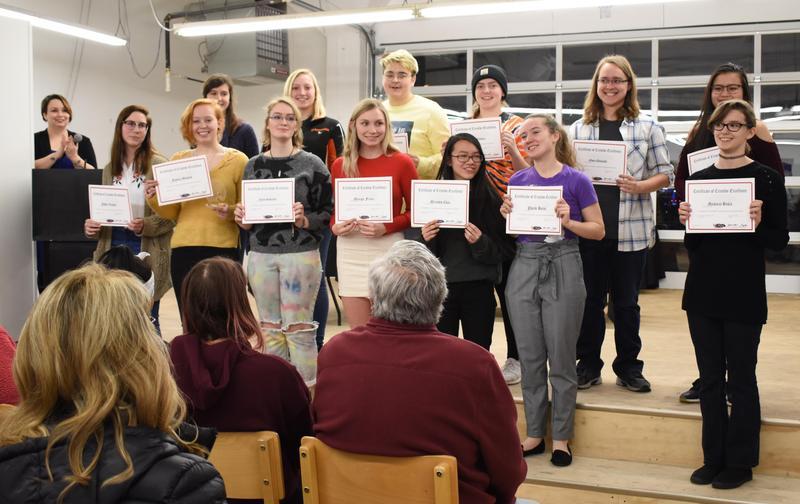 Art Students Recognized