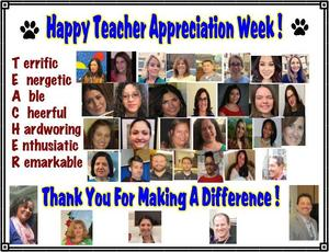 Happy Teacher Appreciation Collage