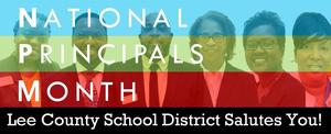 National Principals Month banner