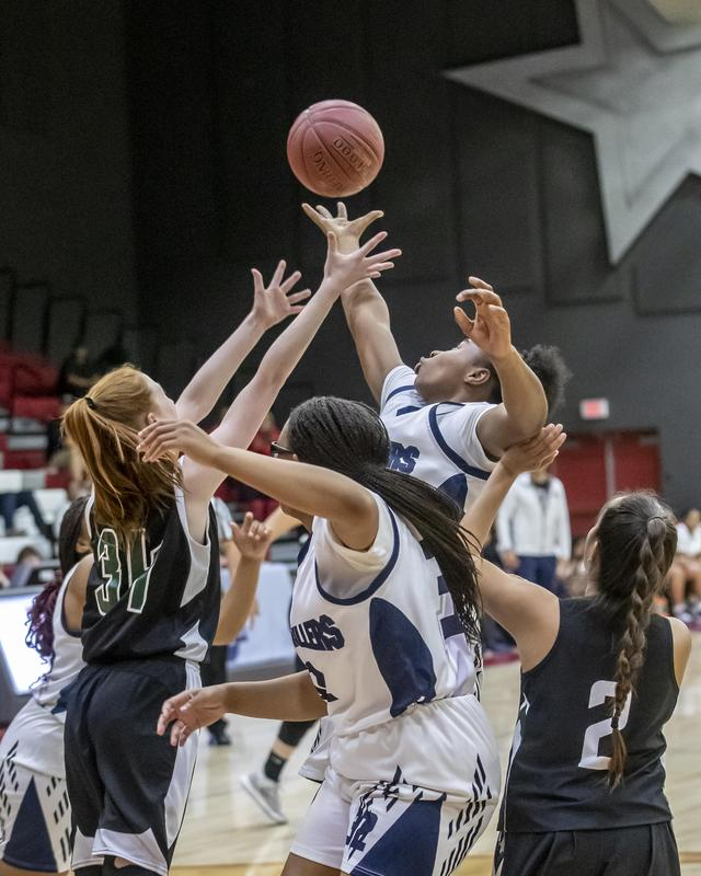Lady Drillers and Garces Rams claim first SYC Basketball Championship Thumbnail Image