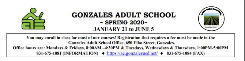 AE 2020 Classes