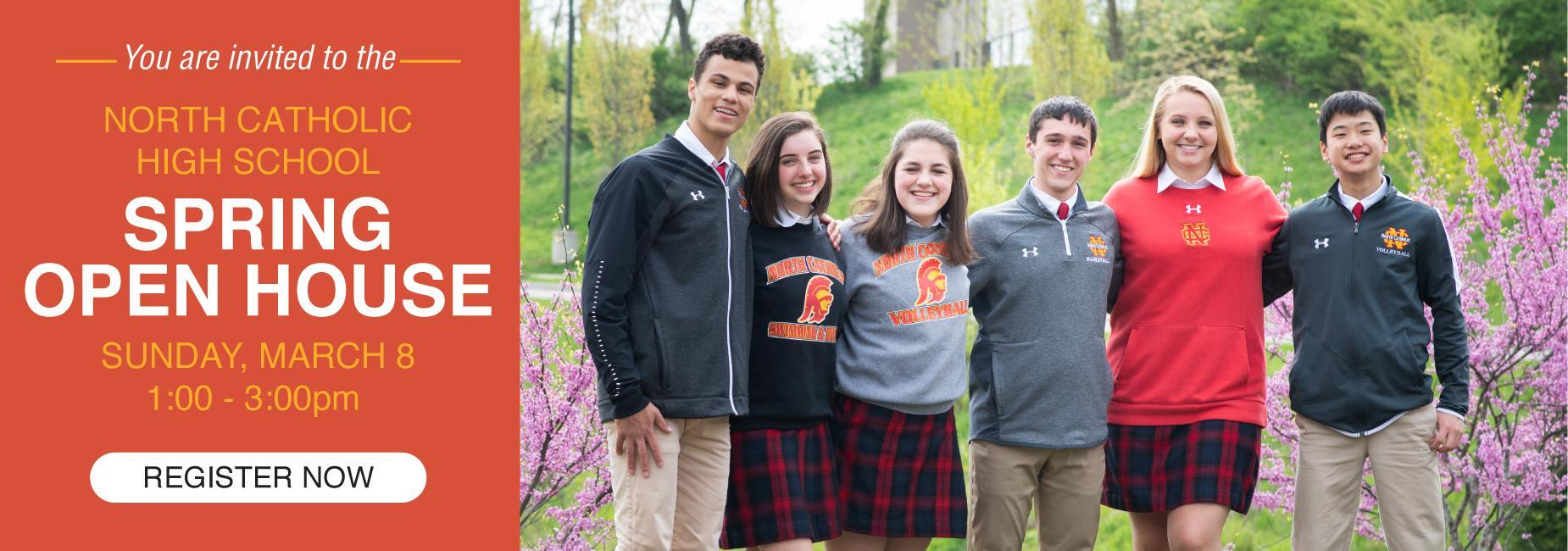 North Catholic Admissions Open House