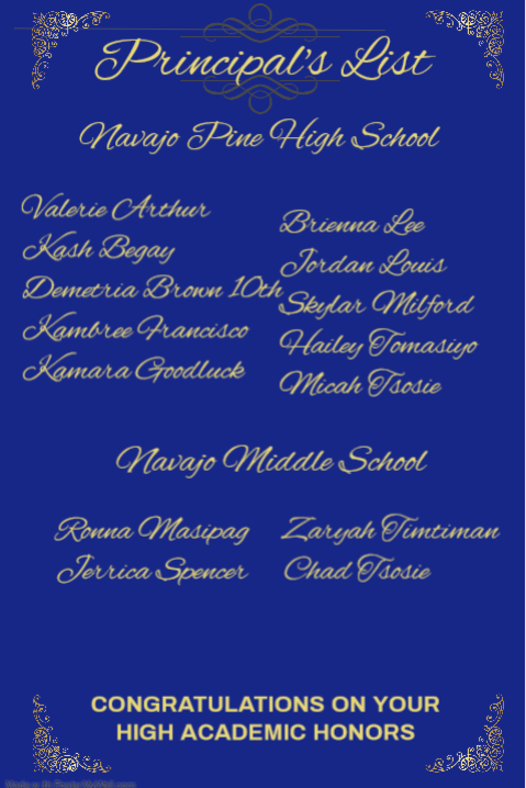 Principal's List Featured Photo