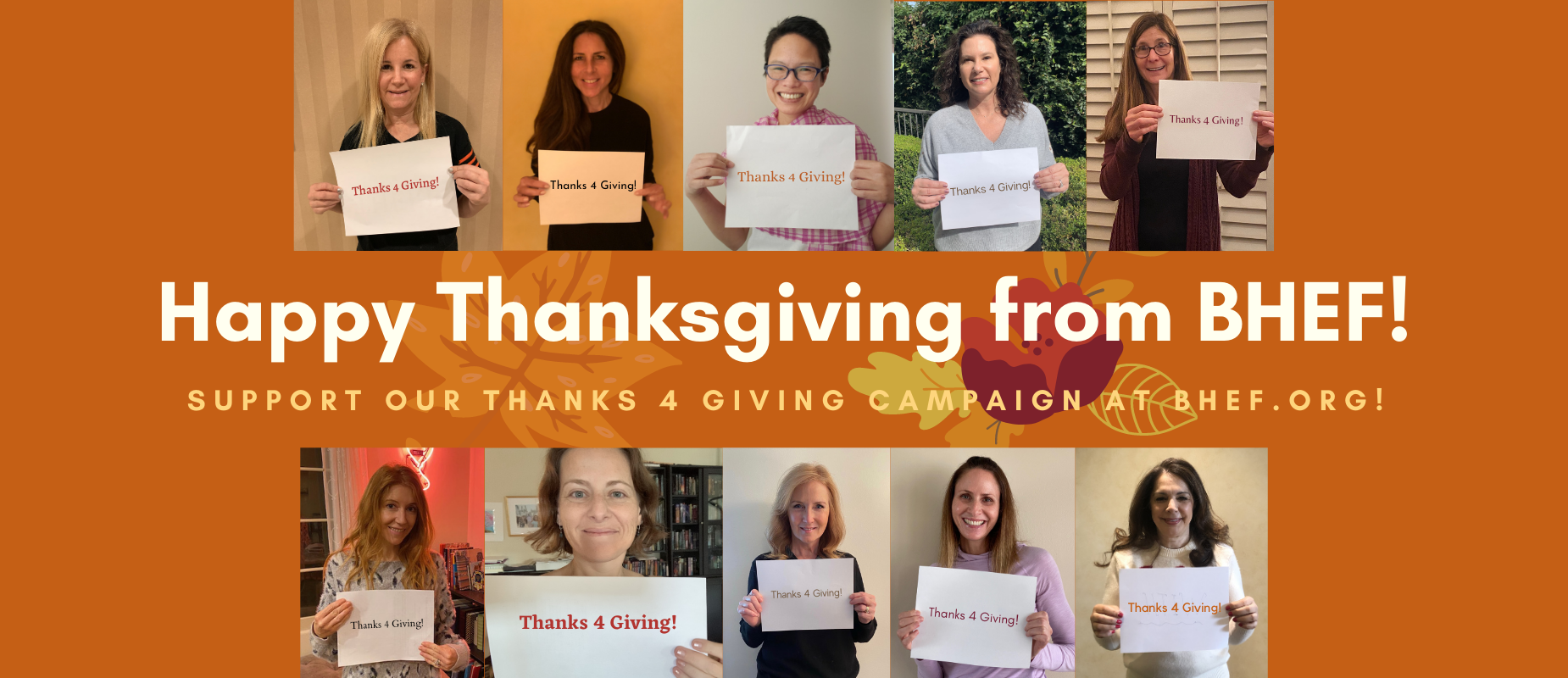 Happy Thanksgiving from BHEF!