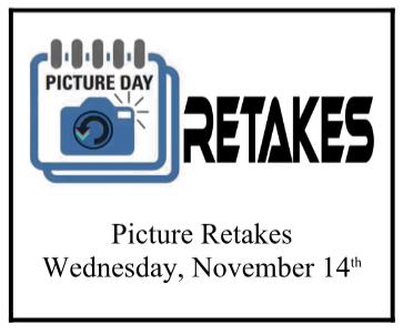Picture Day Retake Poster