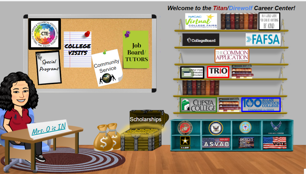 Visit the Virtual Career Center!