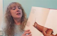 Michelle Laraia holding class on Youtube