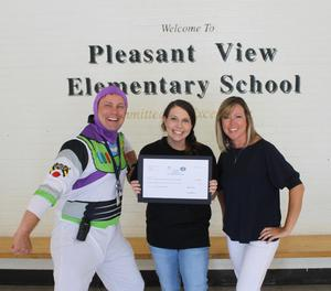 Pleasant View Elementary School: Megan Frost, The Mindful Panther, $2,400
