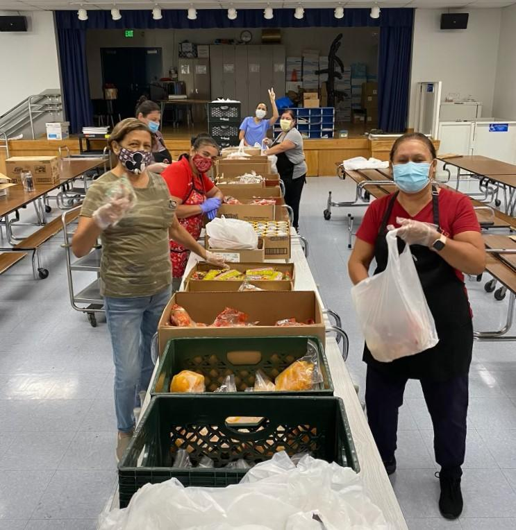 BPUSD's Nutrition Services team has served more than 5.5 million meals to the Baldwin Park community.