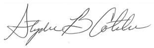 Cotchen Signature