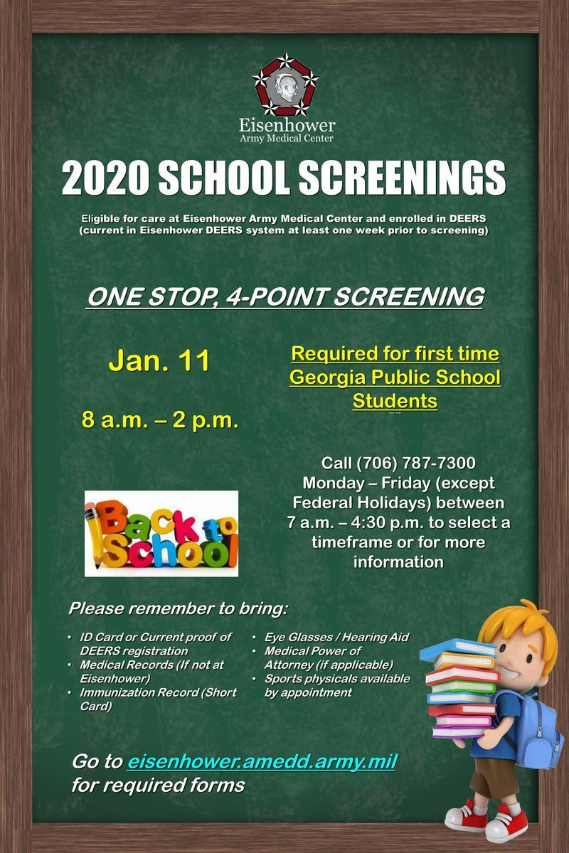 School Screenings