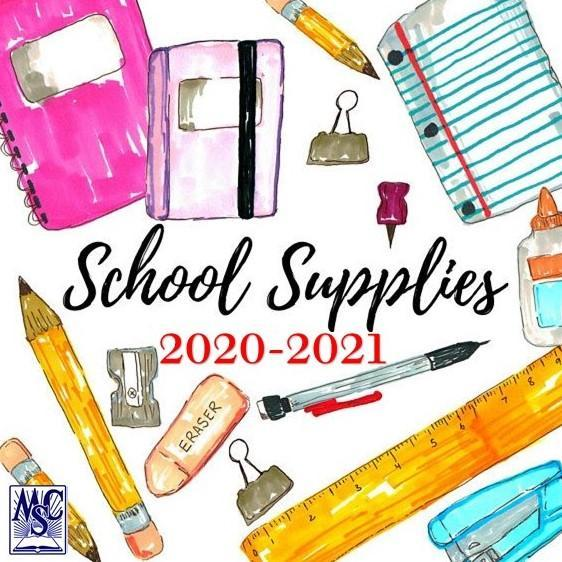 Supplies Lists for 2020-2021 Featured Photo