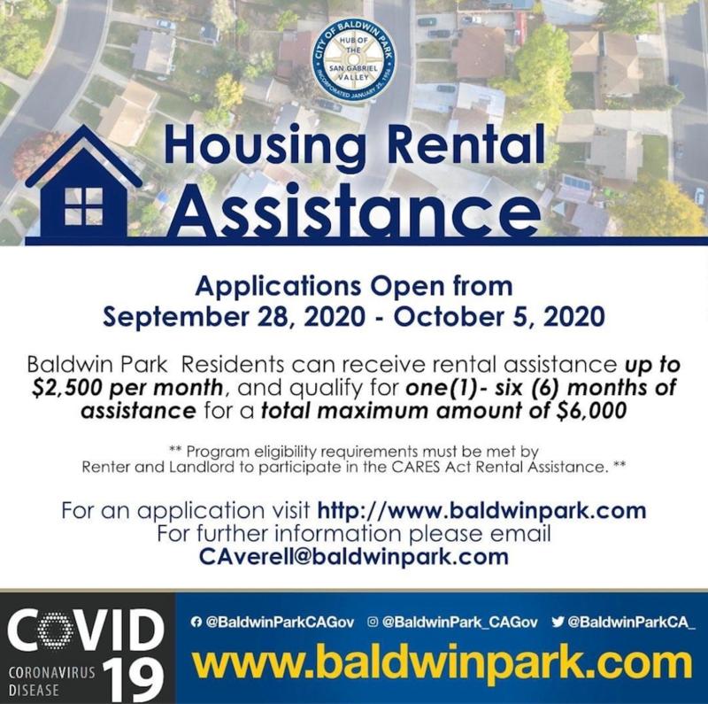 Housing Rental Assistance Flyer