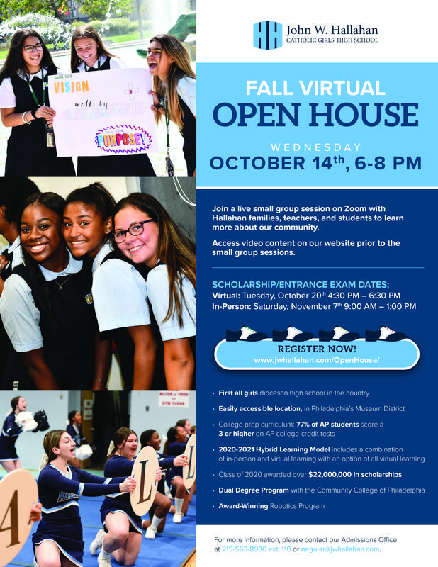 Join Our Virtual Open House! Featured Photo