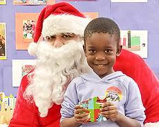 Santa at Readiness