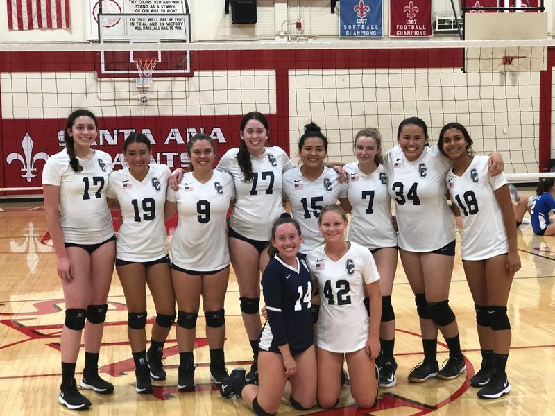 Varsity Girls Volleyball Tournament Champs! Featured Photo