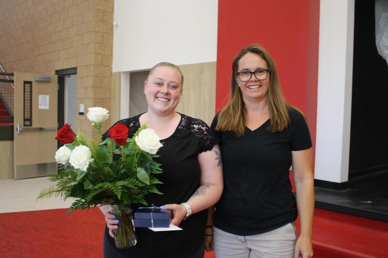 Grand County Board of Education presents Cheyenne Shumway with Rising Star Award Featured Photo