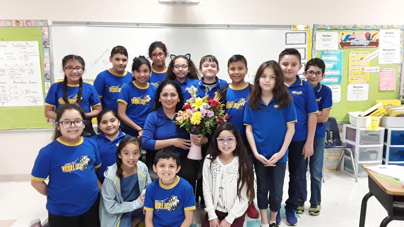 Marina Saldana State Semi-Finalist HEB Excellence in Education Award Thumbnail Image