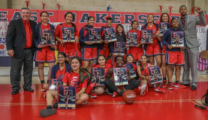 East High girls basketball team wins SoCal Regional. Will play for state championship. Thumbnail Image