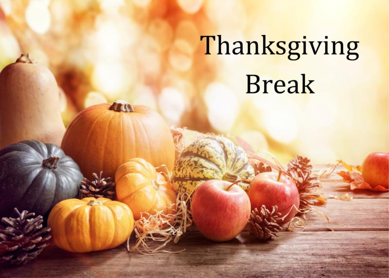 Thanksgiving Week Calendar Adjustments Featured Photo