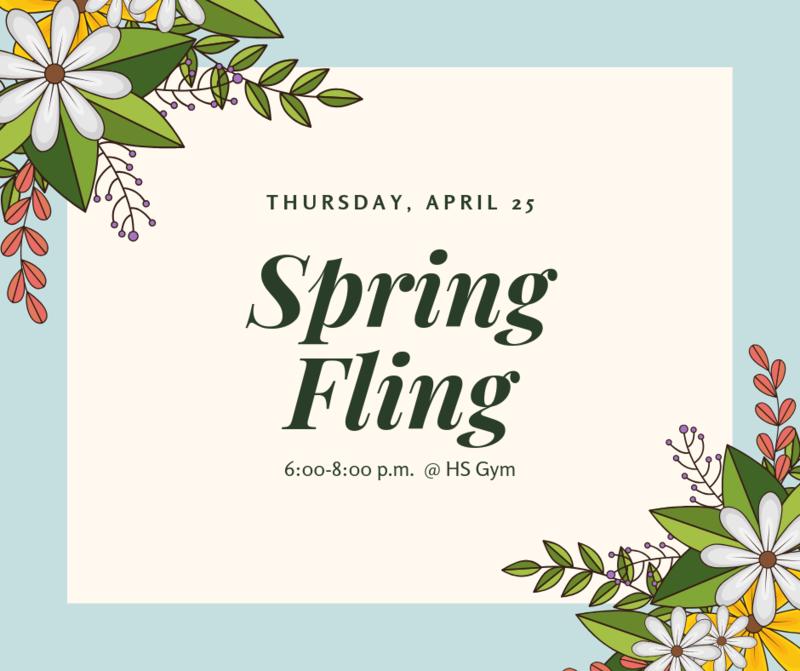 Spring Fling Announcement