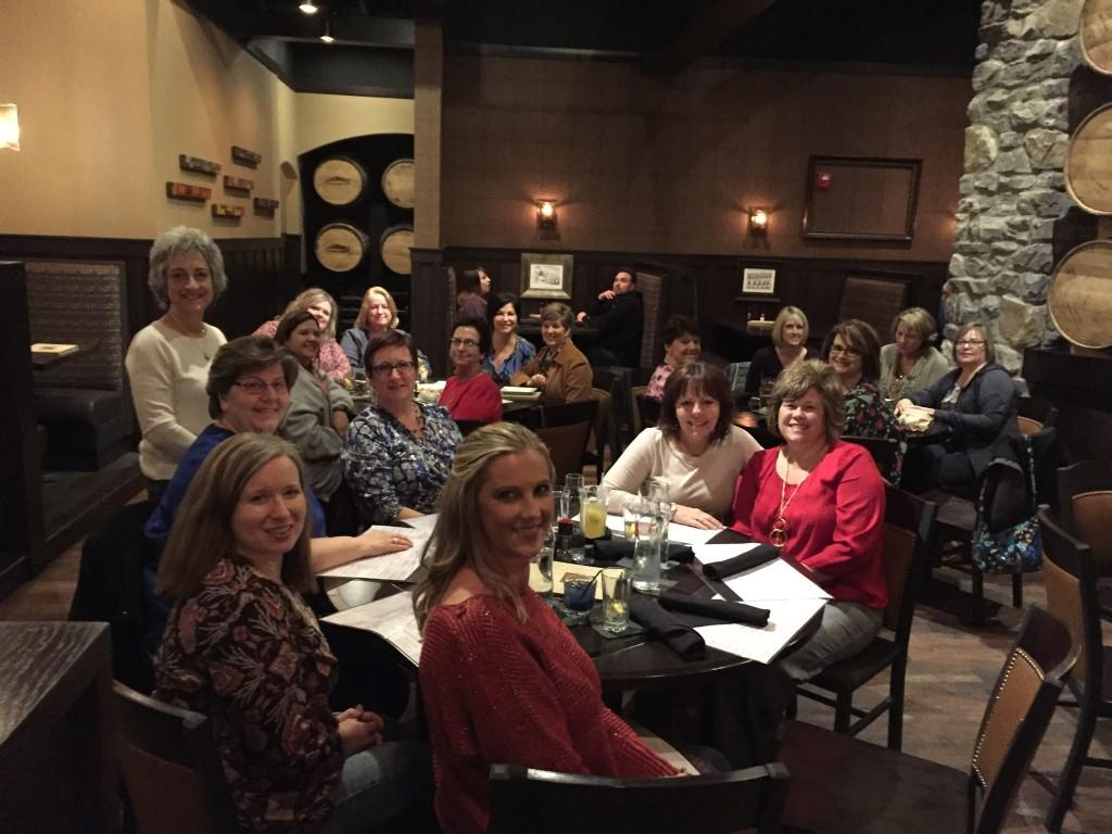 Alt Holiday gathering of some of the RCS School Nurses, December 2015.