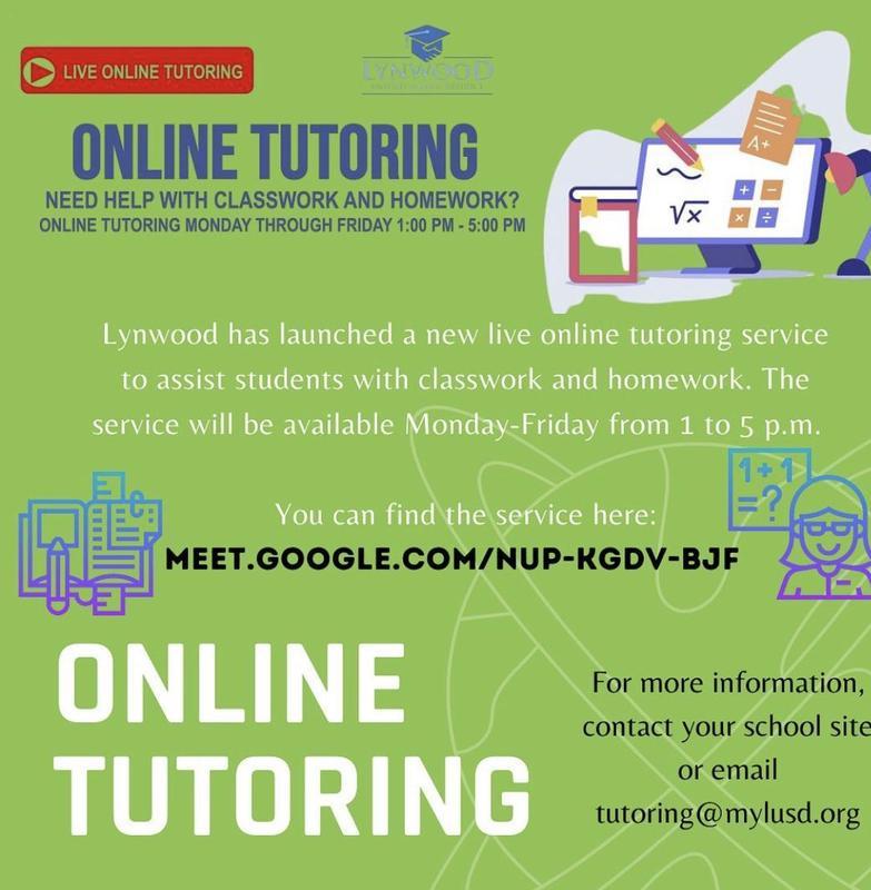 Online Tutoring / Tutoria Virtual Featured Photo