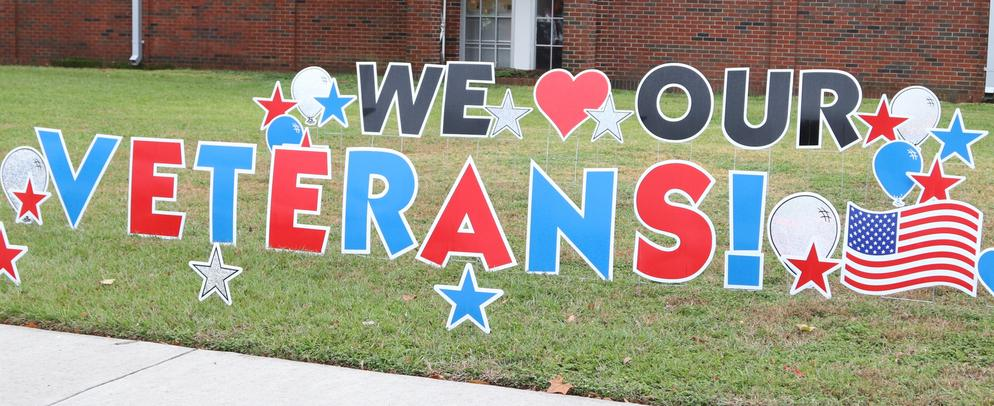 We love our veterans at TIS
