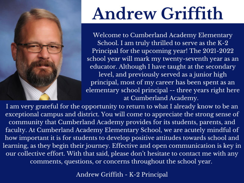 Please welcome back our new K-2 Principal Featured Photo