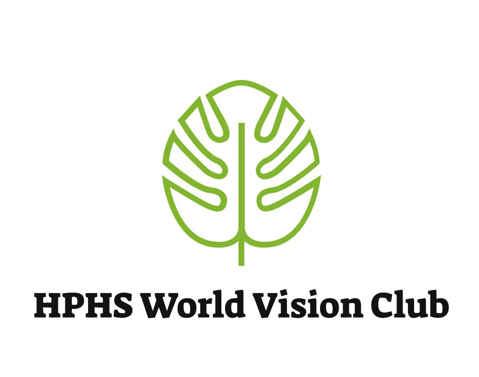 HPHS World Vision club logo.