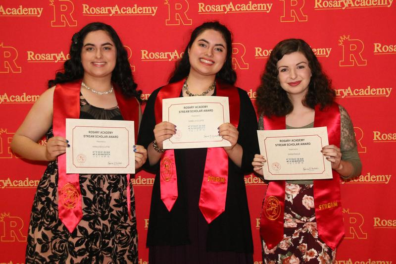 3 Students Receive Inaugural STREAM Scholar Award Featured Photo