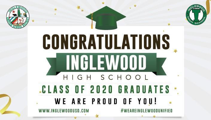 Inglewood Grad Sign