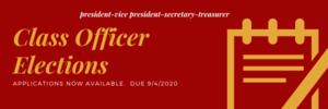 Officer Election Information