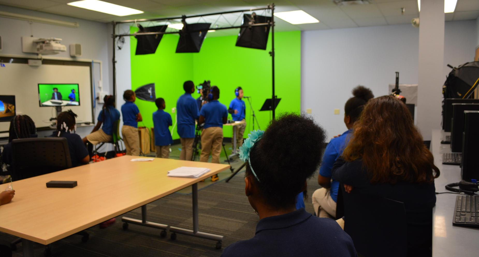 Green Screen Studio work