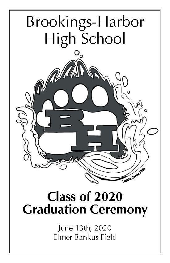 BHHS Grad Program Page 1 Cover