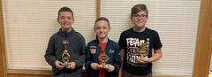 Read-a-thon 2019 - 5th grade Top Readers