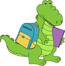 Gator reading