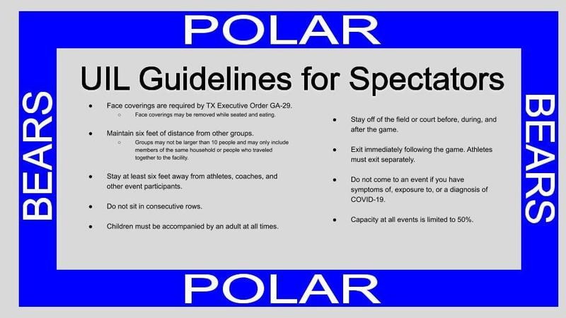 UIL Guidelines for Sports Events Featured Photo