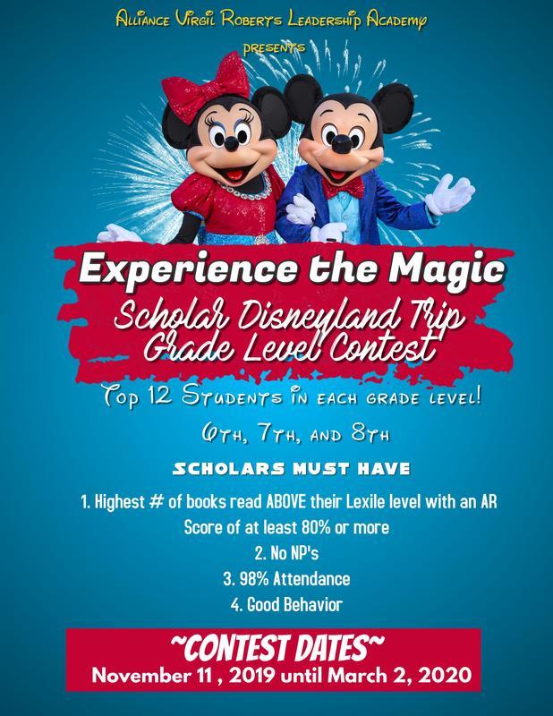 Scholar Disneyland Trip Grade Level Contest Thumbnail Image