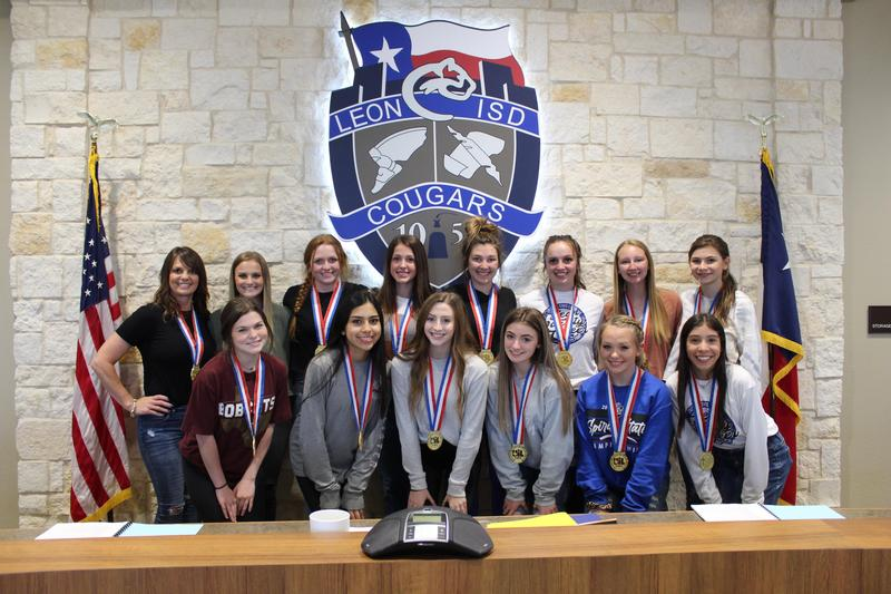 Leon Cheer wins 3rd straight State Title Featured Photo