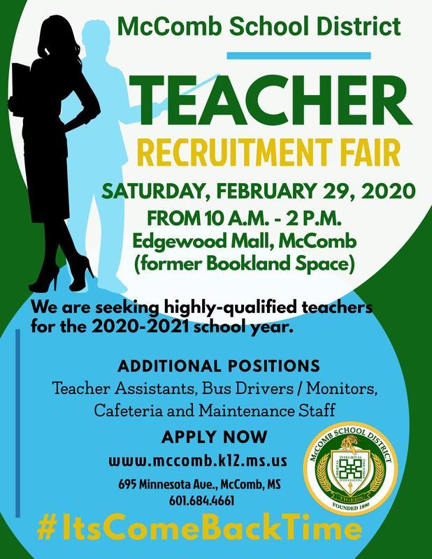 Teacher Recruitment Fair 2020