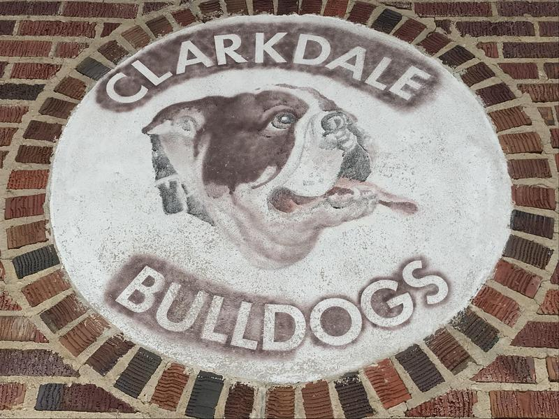Clarkdale High School Sign