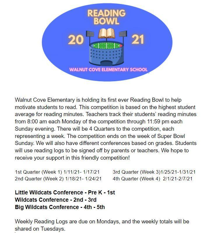 Reading Bowl Flyer