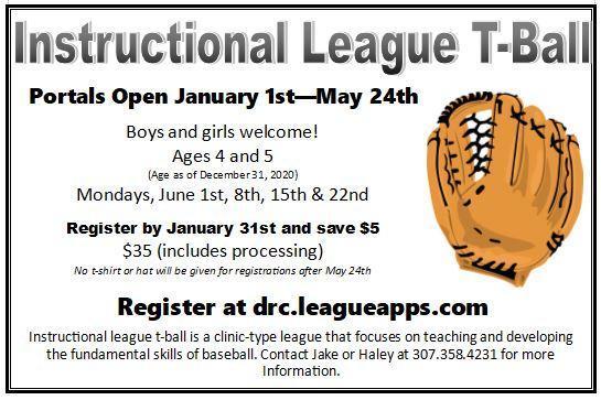 Instructional League Ad