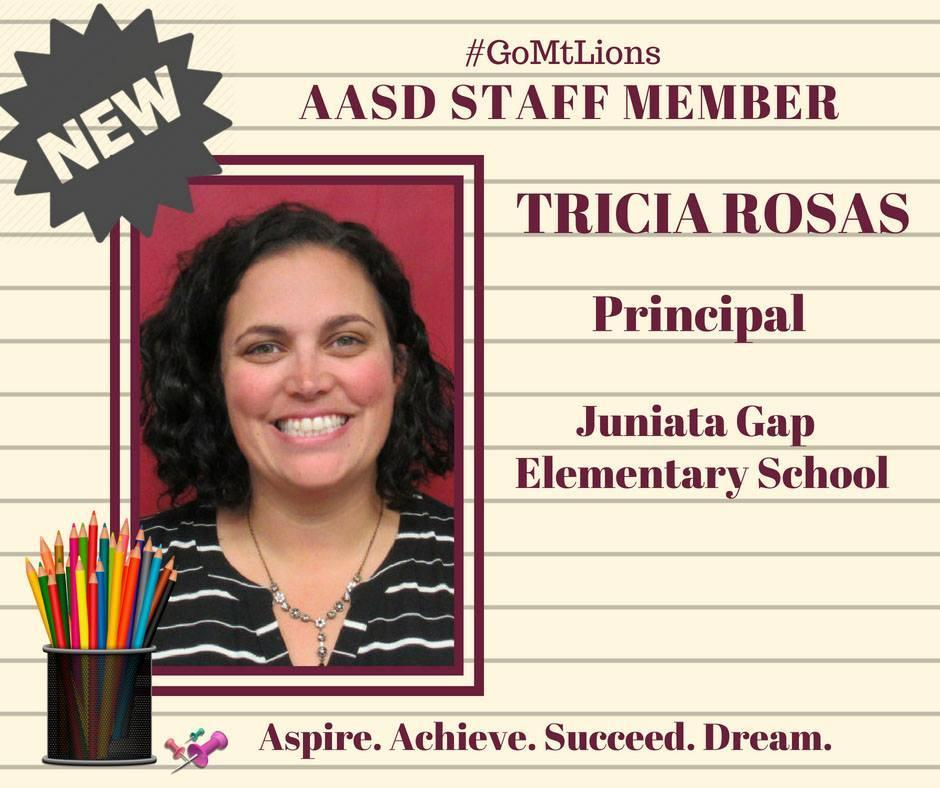 Welcome MRs. Rosas!