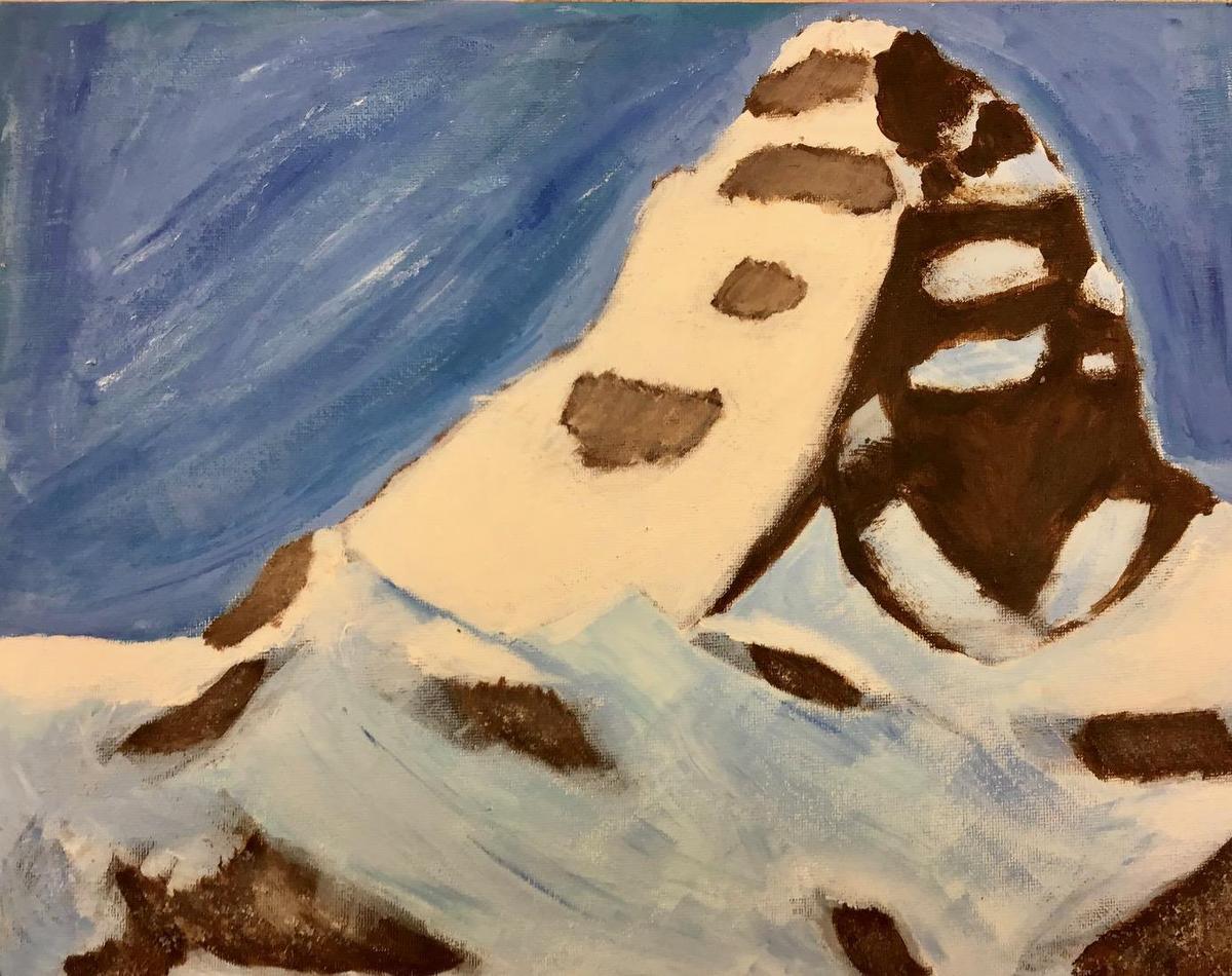 canvas landscape painting
